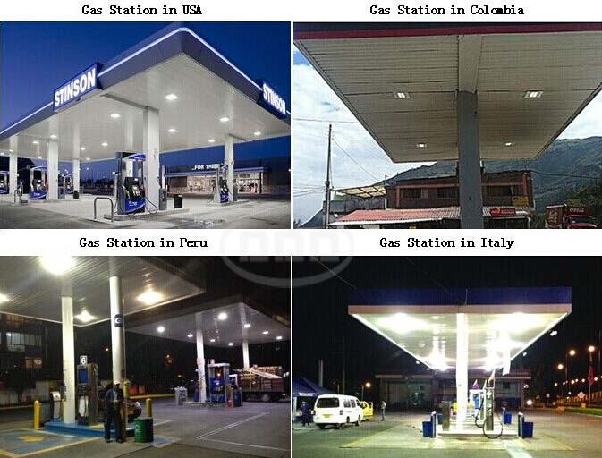 led gas station light